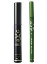 Korean Green Tea Mascara and Eyeliner Water Proof Limited Set