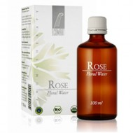 Rose skin toner certified organic Bulgarian Rosa Damascena floral water 100ml