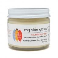 Iwilla Remedy – My Skin Glows Nourishing Cream, 2oz. Calendula and Essential Oils Soothe and Hydrate Irritated Skin