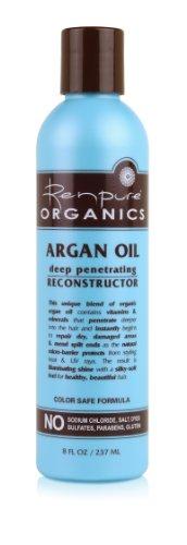 Renpure Organics Argan Oil Deep Penetrating Reconstructor, 8 Ounce (Pack of 2)