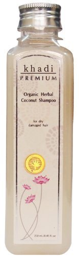 Khadi Premium – Organic Herbal Coconut Shampoo 250ml