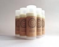 SOOTHING BODY BALM with Organic Free Trade Shea Butter, Mango Butter, Hemp Seed & Jojoba Oils (Vegan + Chemical-Free!)