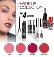 LIP INK Vegan Smearproof Lip Stain Wine Color Collection