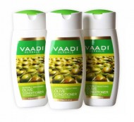 Silky Smooth Conditioner – Olive Oil Conditioner with Avocado Extract – Herbal Conditioner – Sulfate Free – Scalp Therapy – Moisture Therapy – ALL Natural – Each 3.7 Ounces – Value Pack of 3 X 110ml (11.16 Ounces) – Vaadi Herbals