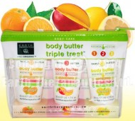 Body Butter Triple Treat – Travel Pack with 3 Flavors