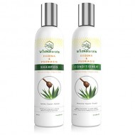 Wild Naturals Eczema & Psoriasis Restoring Shampoo & Conditioner Set, 8 oz.