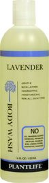 Lavender Body Wash (or Shower Gel)- 14 fl oz- made with organic ingredients and 100% pure essential oils