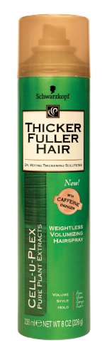 Thicker Fuller Hair Weightless Volumizing Hair Spray – 8 oz
