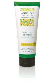 Andalou Naturals Healthy Shine Styling Gel, Sunflower Citrus, 6.8 Ounce