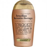 Organix Brazilian Keratin Therapy Anti-Break Serum, 3.3 Ounce – (3 Pack)