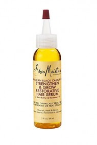Shea Moisture Jamaican Black Castor Oil Strengthen, Grow & Restorative Hair Serum 2oz