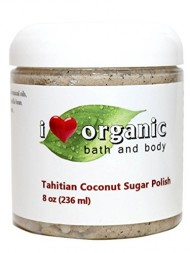 Organic Tahitian Coconut Sugar Scrub Body Polish