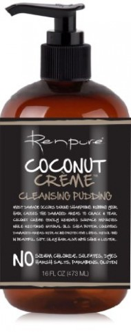Renpure Coconut Creme Cleansing Pudding, 16 Ounce
