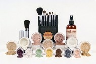 ULTIMATE KIT *Choose Your Shade* Full Size Mineral Makeup Brushes Set Bare Skin Sheer Powder Blush Eye Shadow Foundation Cover (Warm Neutral (most popular))