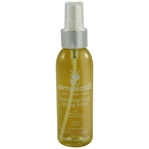 Simplicite Hydrating Floral Toning Lotion 125ml Australian-certified Organic 100% Natural Chemical-free