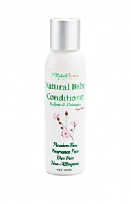 Baby Conditioner – Detangles and Softens Hair with Natural and Organic Ingredients – Relieves Scalp Conditions (Cradle Cap, Dermatitis, Eczema, Dandruff, etc) 8ounce