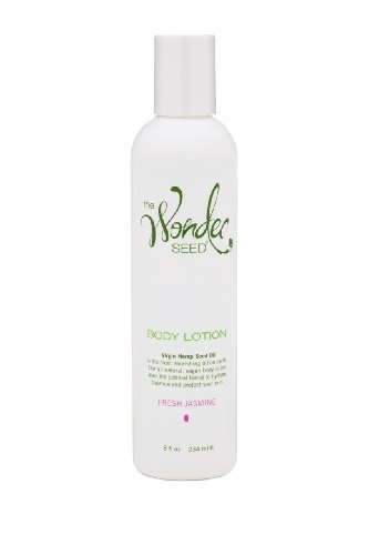 The Wonder Seed Hemp Body Lotion, Fresh Jasmine, 8 Oz
