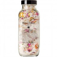 Flower Power Healing Bath Salts & Flowers – Organic Aromatherapy Bath Tea with Essential Oils, Relaxing Bath Soak by Angel Face Botanicals
