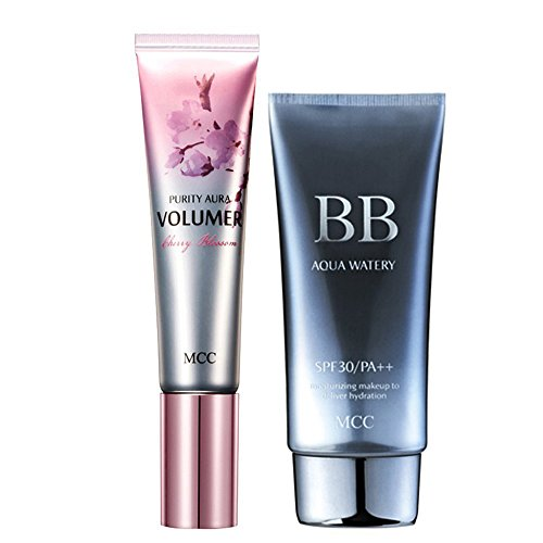 MCC AQUA WATERY BB CREAM SPF30/PA++ (#2) and AURA VOLUMER PRIMER SET