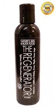 The Regenerator: More Than A Cellulite Cream Not Only Improves The Appearance Of Cellulite It Tightens Skin Anywhere Applied. Use On Thighs, Butt, Stomach And Flabby Upper Arms. The Only Anti Cellulite Cream That Contains 12% Liposomal Vitamin C