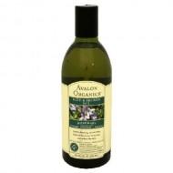 Avalon Organics Rosemary Bath & Shower Gel, 12 Ounce