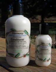 All Natural Organic HARMONY Aromatherapy Hair Conditioner – Lavender, Spearmint, Orange & Cedarwood
