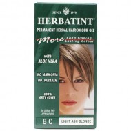 Herbatint Permanent Herbal Haircolor Gel, Light Ash Blonde, 4.5 Ounce