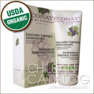 Antioxidant Corporal Lotion with Vitis Vinifera Grape Extract & Grape Seed Oil