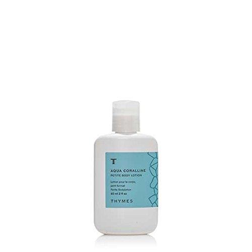 Thymes Aqua Corralline Body Lotion 2 Ounce