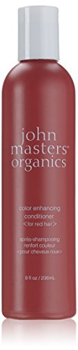 John Masters Organics Color Enhancing Conditioner, Red, 8 Ounce