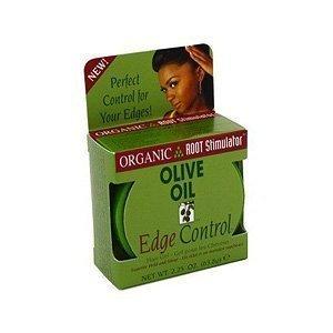 Organic Root Stimulator Hair Gel, Edge Control, Olive Oil – 2.25 oz. (Pack of 3)