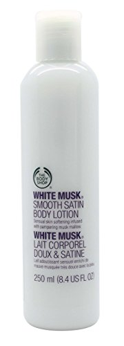 The Body Shop White Musk White Hot Summer Smooth Satin Body Lotion 8.4 oz (250 ml)