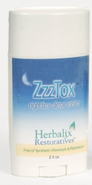 Herbalix Restorataives ZzzTox Nightime Detox Cream 2.5 oz
