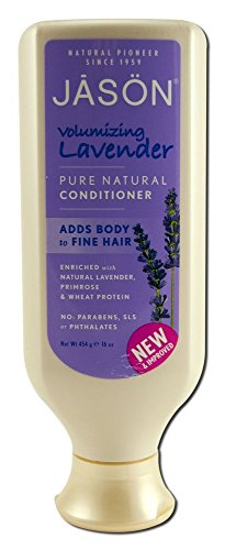 JASON Natural Lavender Hair Strengthening Conditioner, 16 Ounce Bottles (Pack of 3)