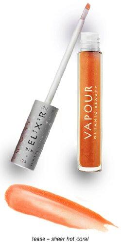 Vapour Organic Beauty Elixir Lip Plumping Gloss – Tease