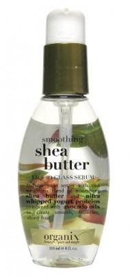 Organix Smoothing Liquid Glass Serum, Shea Butter, 4 Ounce