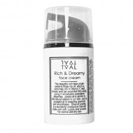 Rich and Dreamy Natural Unscented Face Cream with Rosehip Oil and Jojoba – Tval Skincare Sweden
