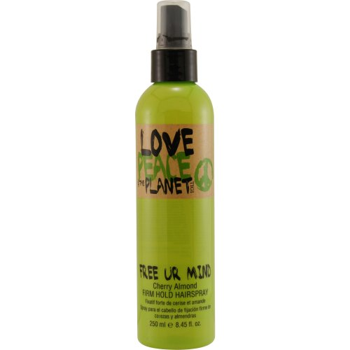 Tigi Love Peace and The Planet Eco Awesome Free Ur Mind Firm Hold Hair Spray, 8.45-Ounce