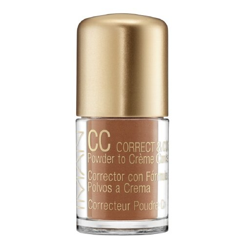 IMAN CC Correct & Cover Powder to Creme Concealer, Earth Medium 0.42 oz (4 g)
