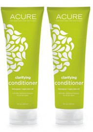 Acure Organics Lemongrass and Argan Oil Stem Cell Volume Natural Conditioner (Pack of 2)