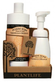 Value Set Vanilla Orange Foam Soap