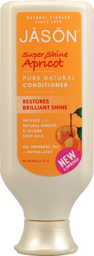 JASON Super Shine Apricot Conditioner, 16 Ounce Bottles (Pack of 3)