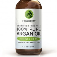BEST ORGANIC Argan Oil for Hair, Face, Skin and Nails – 100% Pure Certified Organic Argan Oil – GUARANTEED to Provide Beautifully Healthy, Nutrient-Rich Moisture… Known as Liquid Gold for the HUGE list of Uses & Benefits – Anti Aging, Vitamin E – Cold Pressed, Unrefined, Virgin, Eco Cert & USDA Certified Organic – Use Alone or Infuse Moisturizers, Lotions, Serums and More! Purchase backed by Amazing Guarantee 2oz