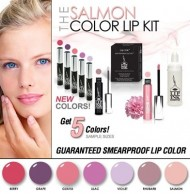 LIP INK Organic Vegan 100% Smearproof Lip Stain, Salmon Collection