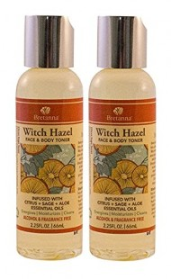 Bretanna Witch Hazel Face & Body Toner Duo Pack – Citrus Sage