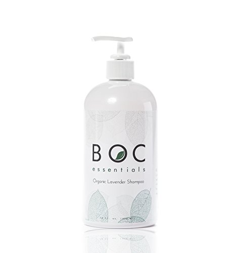 All Natural Shampoo By BOC Essentials. Organic Moisturizing Hair Care to Soften & Shine. 16 Oz Bottle Jojoba Oils, Aloe, and Coconut. Sulfate Free & Safe for Color Treated. Repair Your Dry Hair Today!