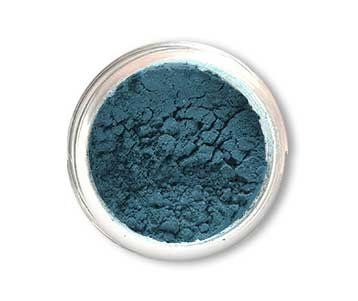 SpaGlo® Smoky Turquois Mineral Eyeshadow- Warm Based Color