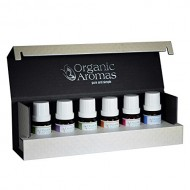 Designer Series Essential Oil Sampler Collection by Organic Aromas – Luxury Gift Set for Aromatherapy