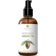 RejuveNaturals Virgin Moroccan Argan Oil – 100% Pure and Certified Organic (4 Fl. Oz.) for Face, Hair, Skin and Nails