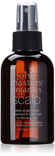 John Masters Organics Deep Scalp Follicle Treatment and Volumizer, 4.2 Ounce